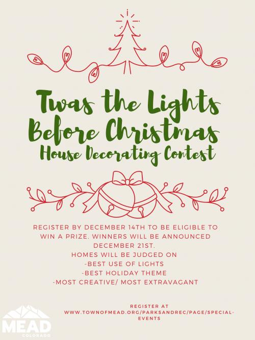 Thelights Of Christmas 2020 Twas the Lights Before Christmas Home Decorating Contest | Mead